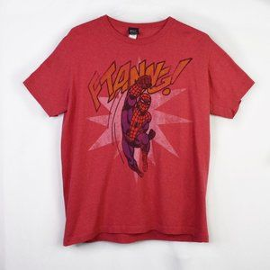Marvel Red Spiderman Ftangg Lightweight T-Shirt